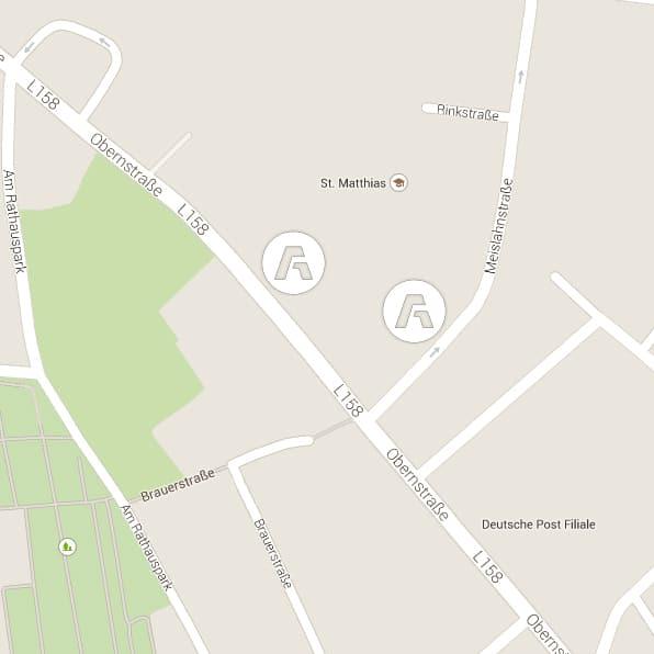Ärztehaus-Achim-Karte-Anfahrt